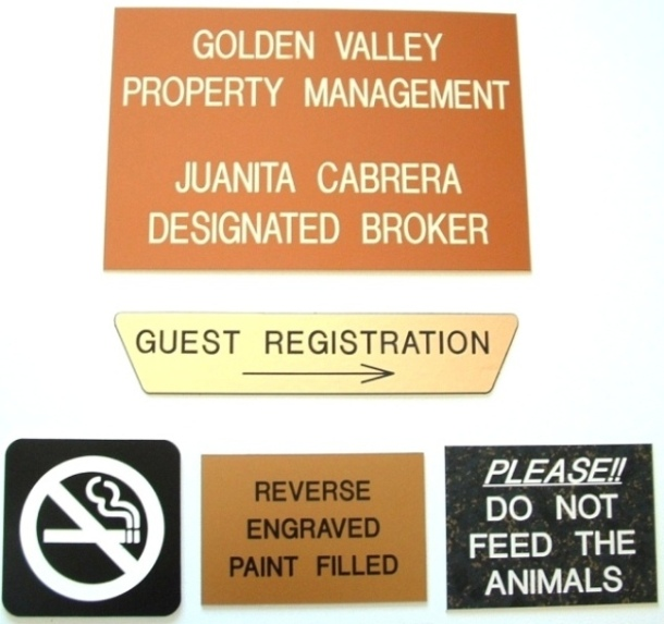 Custom Engraved Signage